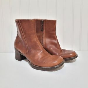 Timberland heeled ankle booties